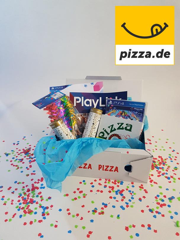 Pizza und Spiele dank Pizza.de und Sony PlayStation!