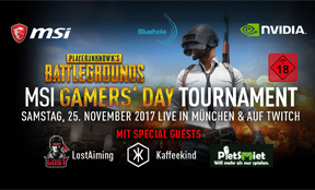 PietSmiet beim PUBG MSI Gamers' Day Tournament